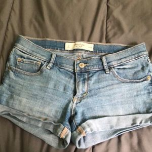 Abercrombie and Fitch women's denim shorts